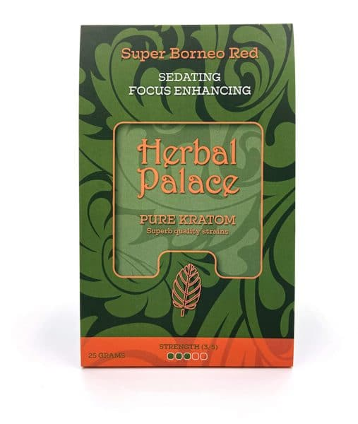 Herbal Palace Kratom Borneo Red