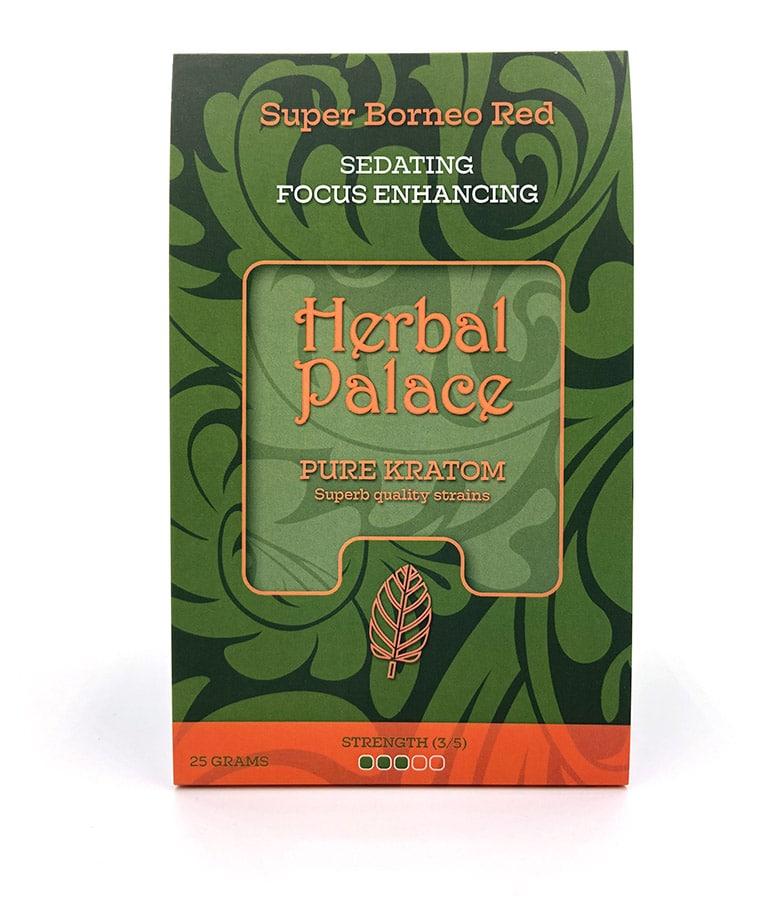 Herbal Palace Kratom Borneo Red