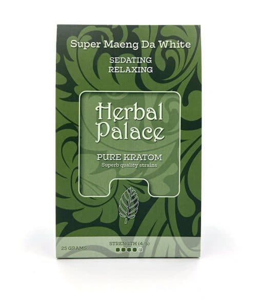 Herbal Palace Kratom Maeng Da White