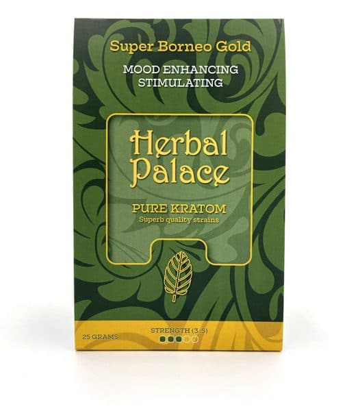 Herbal Palace Kratom Borneo Gold