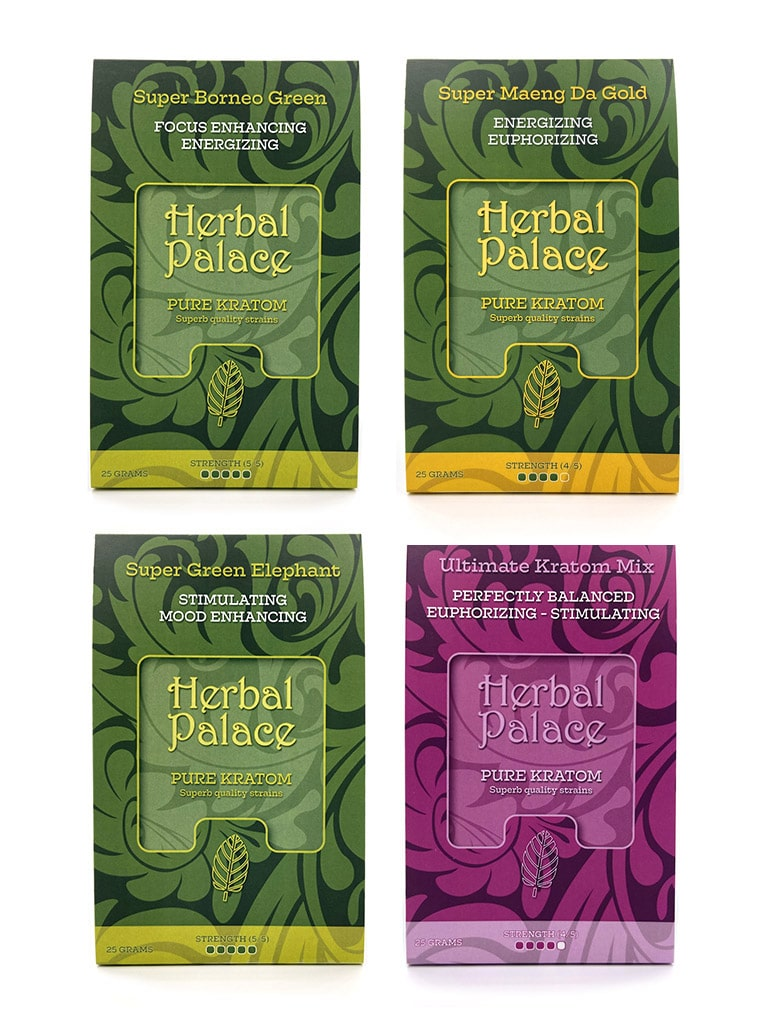 Herbal Palace Kratom Energizing Pakket