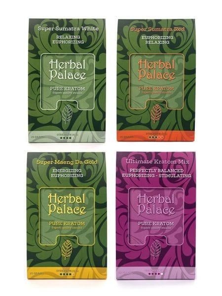 Herbal Palace Kratom Euphorizing Pakket