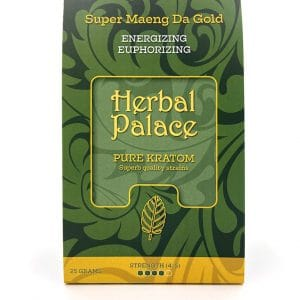Herbal Palace Kratom Maeng Da Gold