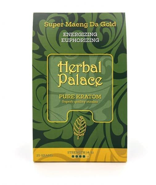 Maeng Da Gold Kratom van Herbal Palace - Energie en euforie