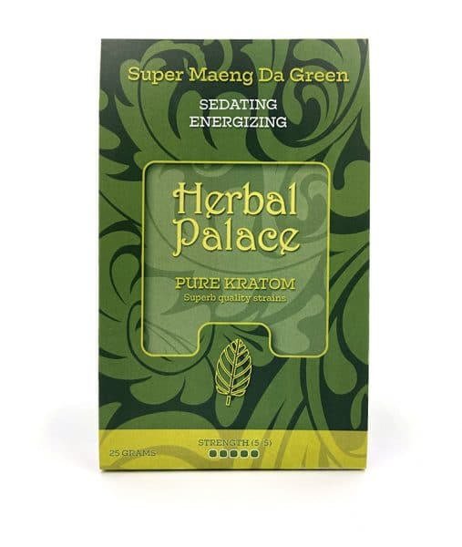 Kratom Maeng Da Green van Herbal Palace. Rust, relax en energie