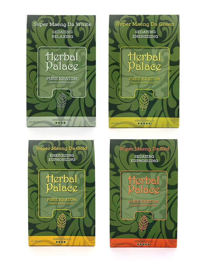 Herbal Palace Kratom Maeng Da Pakket