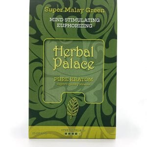 Herbal Palace Kratom Malay Green