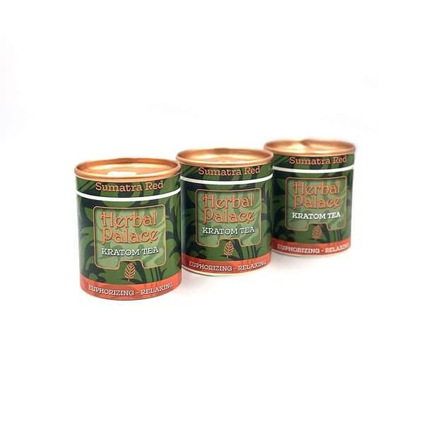 Herbal Palace Kratom Thee Sumatra Red pakket