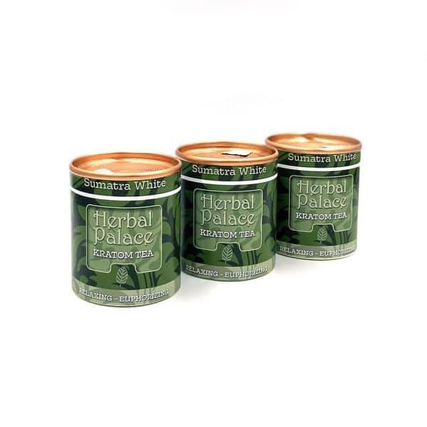 Herbal Palace Kratom Thee Sumatra White Pakket