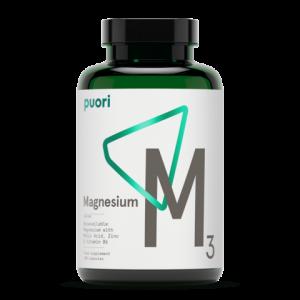Puori Magnesium M3 Voedingssupplementen