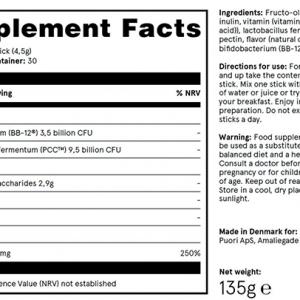 Puori Probiotica SB3 Supplements Facts Voedingssupplementen