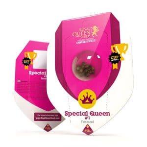 Special Queen Gefeminiseerd Royal Queen wietzaadjes