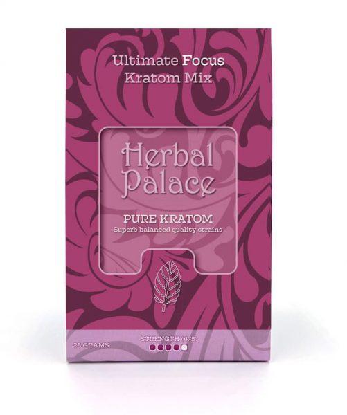 Focus Kratom. Ultieme mix van Herbal Palace. Focus en concentratie.