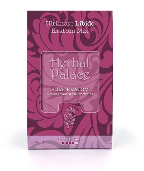 Libido Kratom. Ultieme mix van Herbal Palace. Libido, lust en stimulatie. Libidoverhogende producten