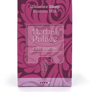 Slaap Kratom. Ultieme mix van Herbal Palace. Rust, ontspanning en slaap.